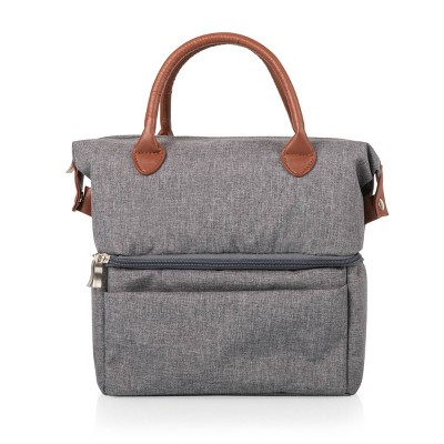 Picnic Time Urban Lunch Tote - Heathered Gray
