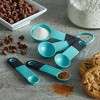 KitchenAid Measuring Spoons Aqua Sky - image 3 of 4