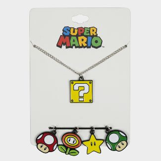 Nintendo Necklace Set - Mario