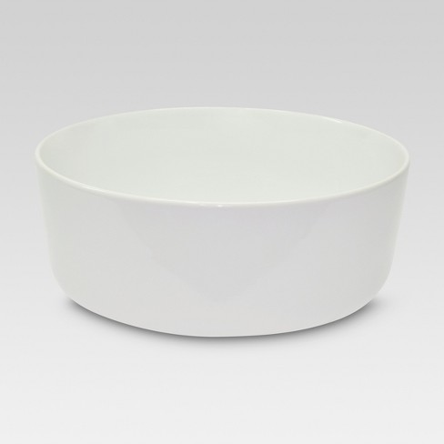 Large Basic Modern Bowl White 139oz - Threshold™ - image 1 of 1
