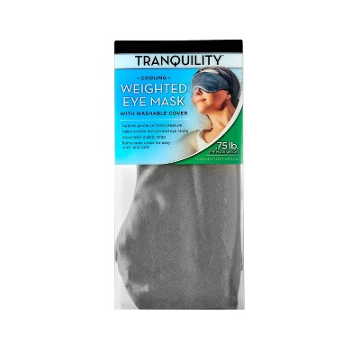 Cooling Weighted Eye Mask Gray - Tranquility
