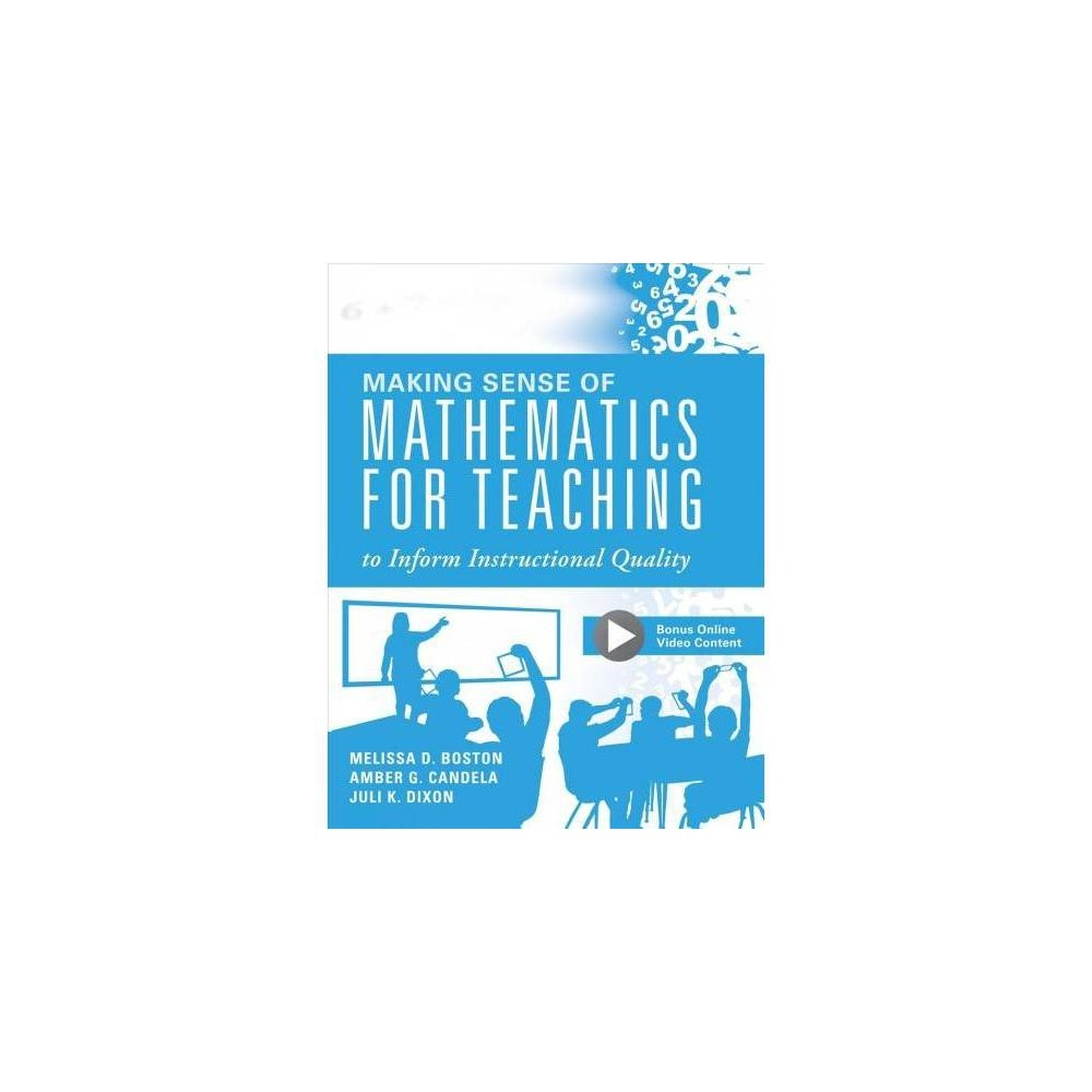 Making Sense of Mathematics for Teaching to Inform Instructional Quality : Applying the Tqe Process in
