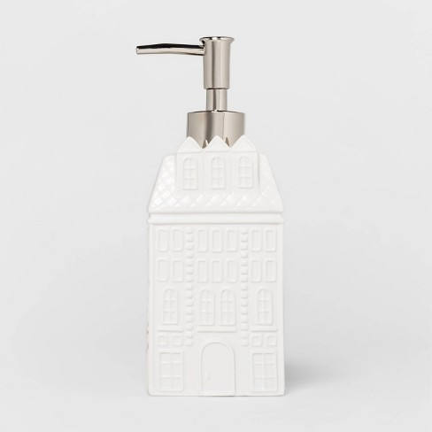 Winter Building Soap Pump White - Threshold™ - image 1 of 1