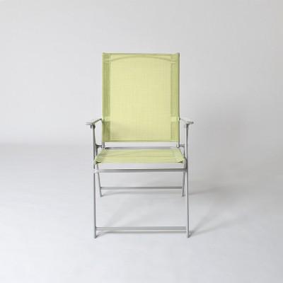 Sling Folding Patio Chair Green - Threshold™