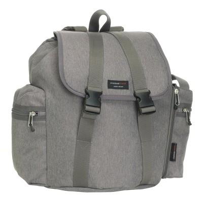 Storksak Travel Backpack Diaper Bag - Gray
