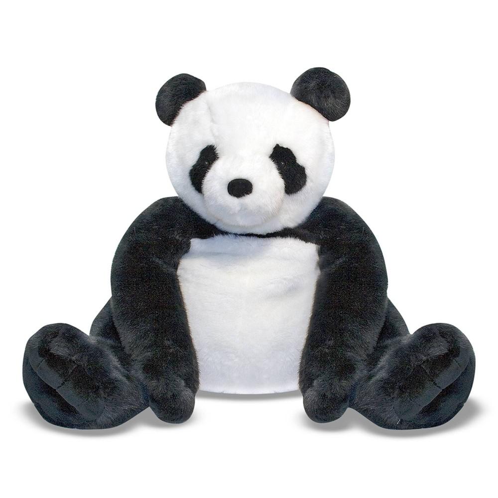 Melissa 38 Doug Giant Panda Bear Lifelike Stuffed Animal Over 2 Feet Tall