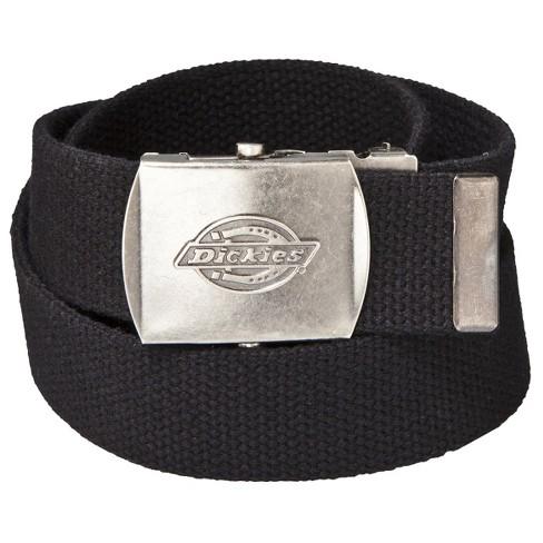 Dickies® Men s Military Fabric Belt - Black   Target 76852e29daf