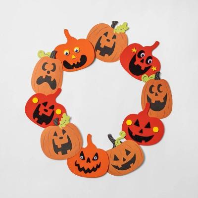 16pk Pumpkin Foam Halloween Decorating Kit - Hyde & EEK! Boutique™