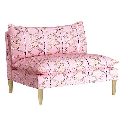Pillow Top Armless Love Seat - Designlovefest