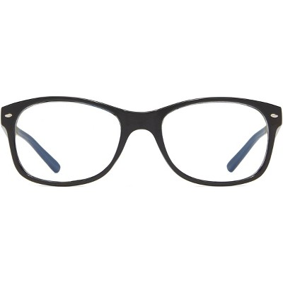 ICU Eyewear Kids Screen Vision Blue Light Filtering Oval Glasses