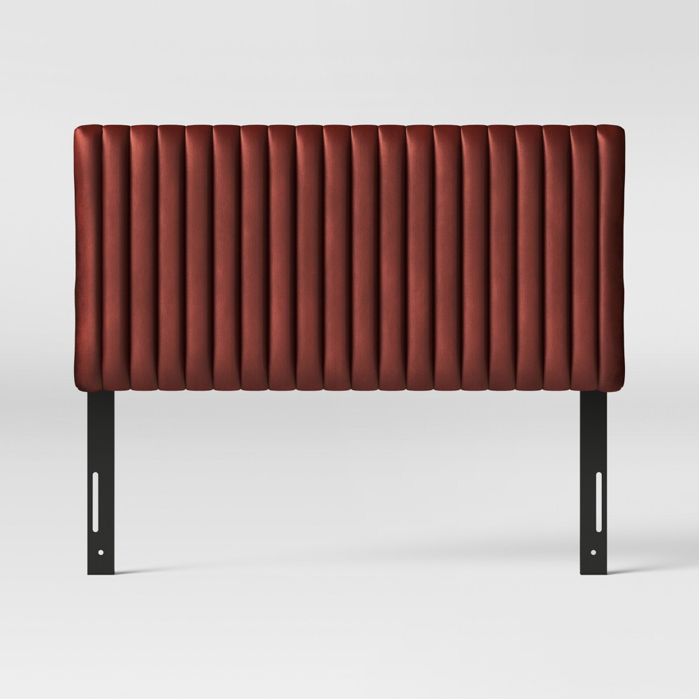California King Velvet Channel Headboard Cedar Velvet - Opalhouse
