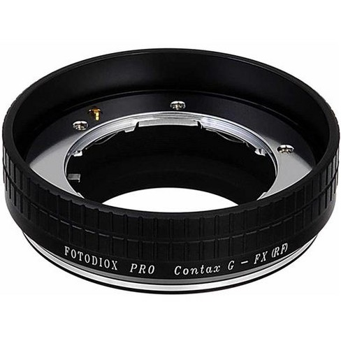 Fotodiox Mount Adapter with Aperture Control Dial for Contax G Lens to Fujifilm X-Mount Camera - image 1 of 4