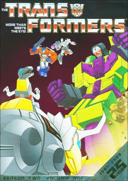 The Transformers: Season 2, Vol. 1 (25th Anniversary) (4 Discs) (dvd_video) - image 1 of 1