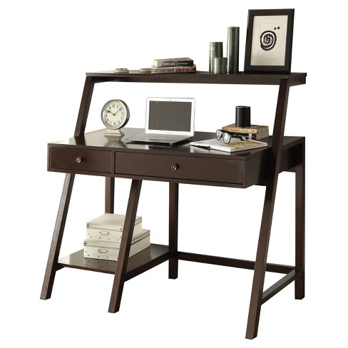 Writing Desk Acme Furniture Espresso Brown - image 1 of 2