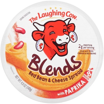 The Laughing Cow Blends Red Bean & Cheese Spread with Paprika - 4.9oz/8ct Wedges