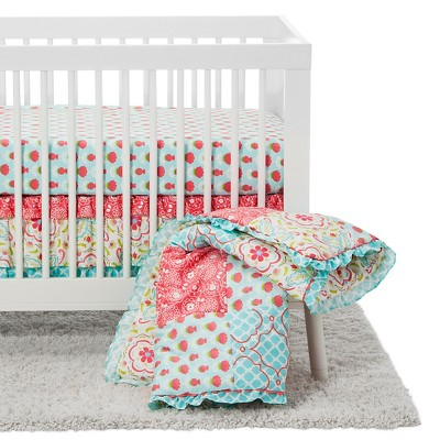The Peanut Shell Crib Bedding Set 4pc - Mila