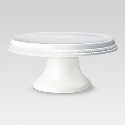 Beaded Cake Stand White - Threshold™