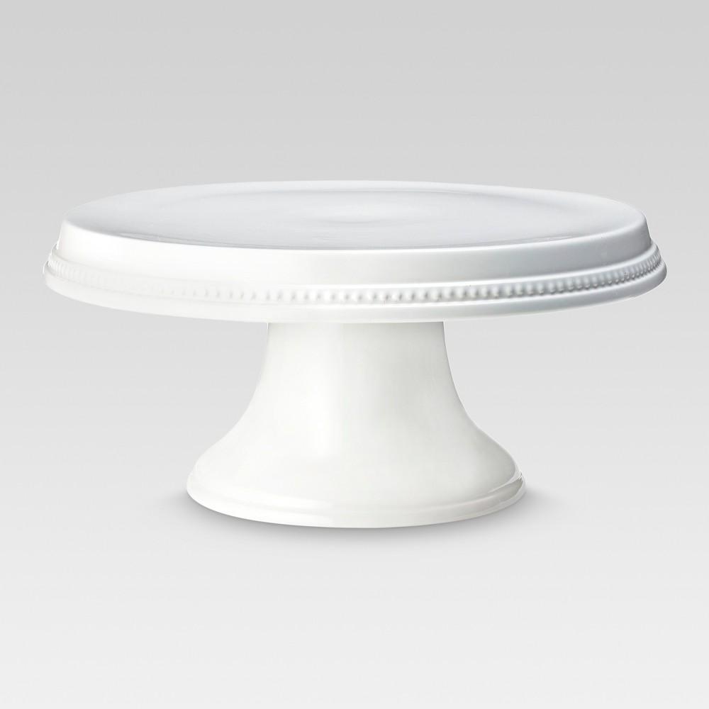 Beaded Cake Stand White - Threshold