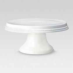 Beaded Cake Stand White - Threshold™