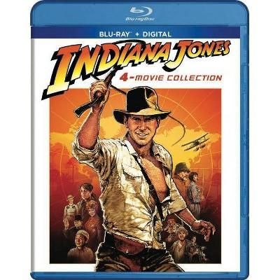 Indiana Jones: 4-Movie Collection (Blu-ray + Digital)
