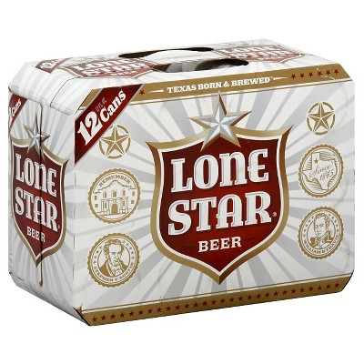 Lone Star Beer - 12pk/12 fl oz Cans