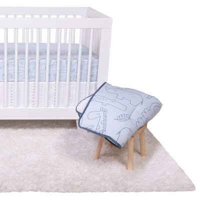 Trend Lab Crib Bedding Set - Simply Safari - 4pc