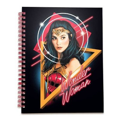 DC Comics: Wonder Woman 1984 Spiral Notebook - by  Insight Editions (Hardcover)