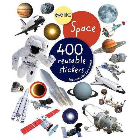 Eyelike Stickers: Space - (Paperback) - image 1 of 1
