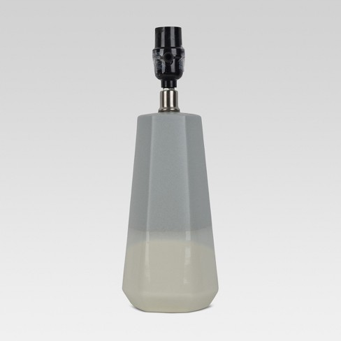 Dipped Ceramic Small Lamp Base Blue/White - Threshold™ - image 1 of 1