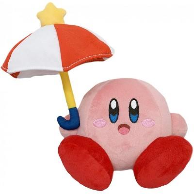 Little Buddy LLC Kirby Nintendo 7 Inch Plush - Parasol Kirby
