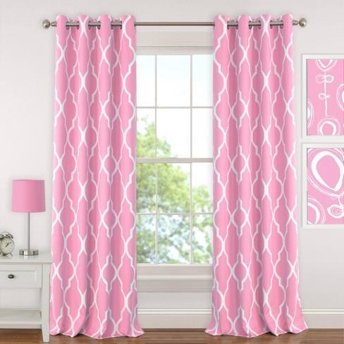 Emery Kids Blackout Window Curtain Panel - Elrene Home Fashions - image 1 of 4