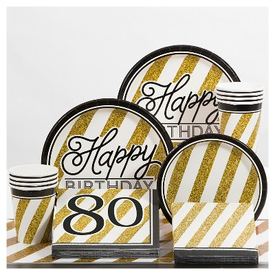 80th Birthday Party Supplies Collection Target