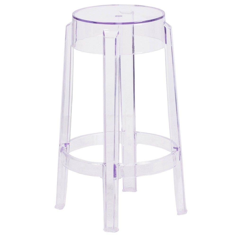Image of 25.75'' Counter Height Stool Clear - Riverstone Furniture Collection