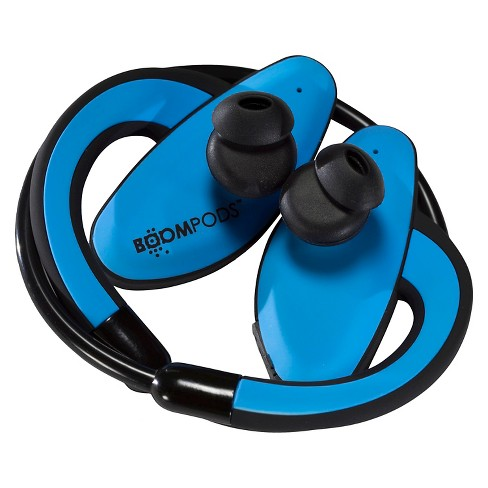 BoomPods SportPods Bluetooth Earphones for Ipad Tablets - Blue - image 1 of 3