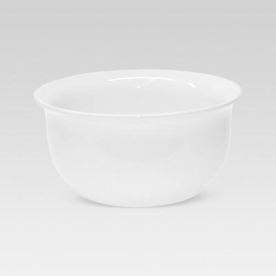 120oz Porcelain Scalloped Serving Bowl White - Threshold™