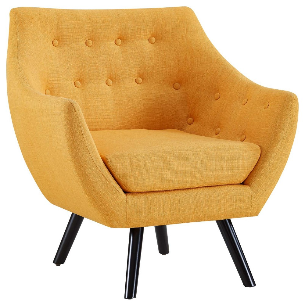 Allegory Armchair Mustard (Yellow) - Modway