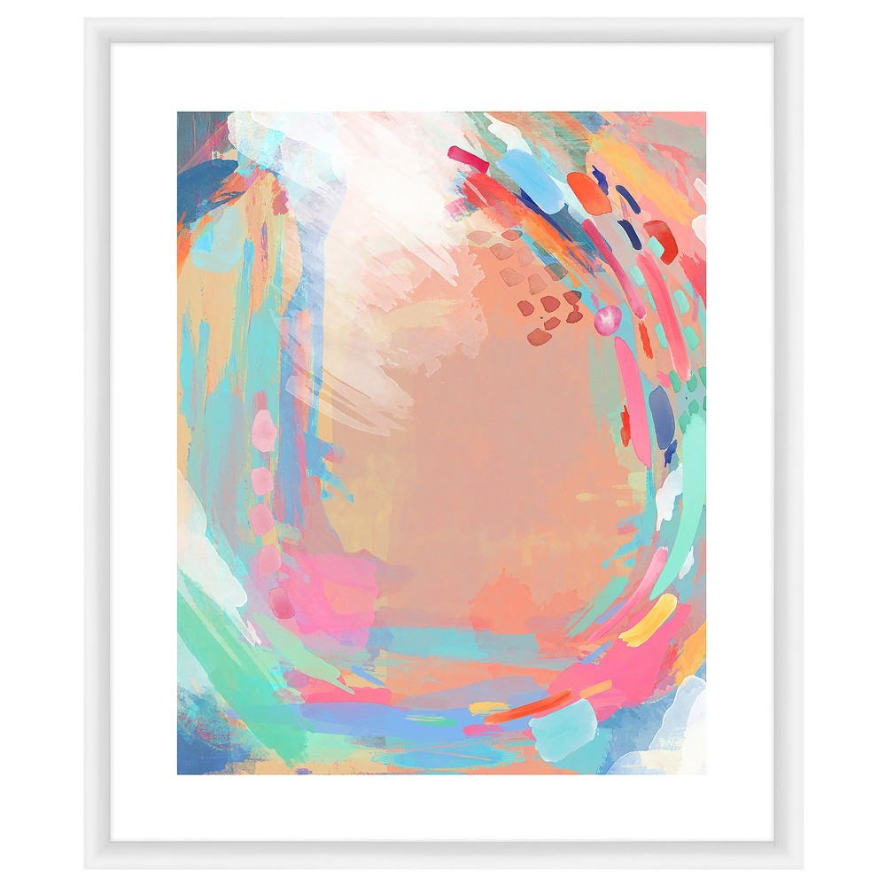Give your decor a refreshing pop of bright color and cheerful flair with this Colorful Swirls II Wall Art from PTM Images. This wall art piece showcases a digital print of mesmerizing swirls painted with bold brushstrokes in bright, colorful hues to create a stunning abstract picture that\\\'ll instantly liven up your space. Thanks to its bright colors, this wall art piece can be displayed on its own for a bold look, or as part of a gallery wall for some extra style.