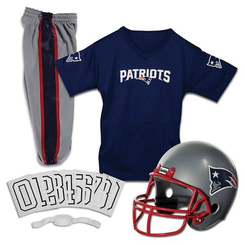 Franklin Sports NFL New England Patriots Deluxe Uniform Set