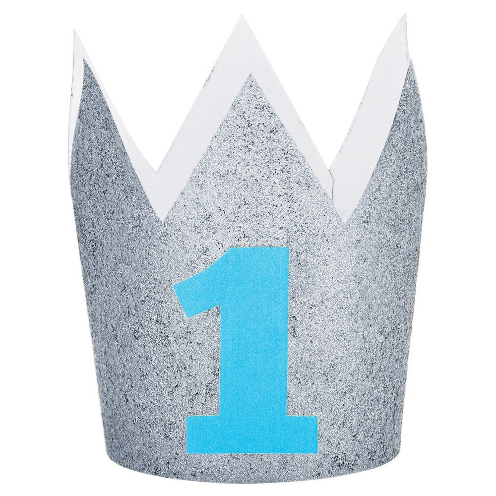 Image of 1st Birthday Boy Crown, wearable party accessories
