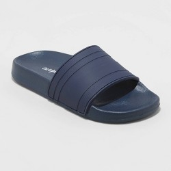 Boys' Nikko Slide Sandals - Cat & Jack™ Navy