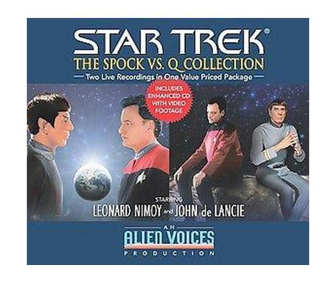 Star Trek : The Spock Vs. Q Collection (Unabridged) (CD/Spoken Word) (Cecelia Fannon) - image 1 of 1
