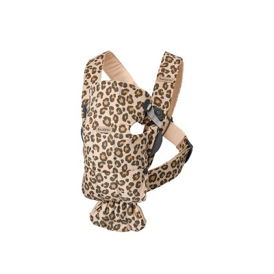 BabyBjorn Carrier Mini in Cotton - Beige Leopard