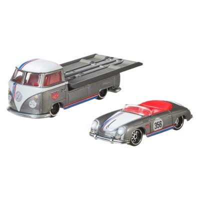 Hot Wheels Porsche 356 Speedster & Volkswagen Transporter T1 Pickup