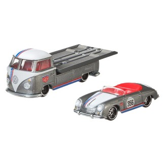 Hot Wheels Porsche 356 Speedster & Volkswagen Transporter T1 Pickup