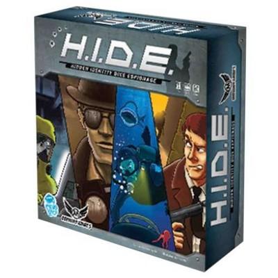 H.I.D.E. - Hidden Identity Dice Espionage Board Game