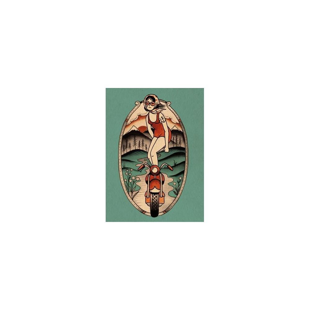 Daring Dames Journal (Paperback) (Kyler Martz)