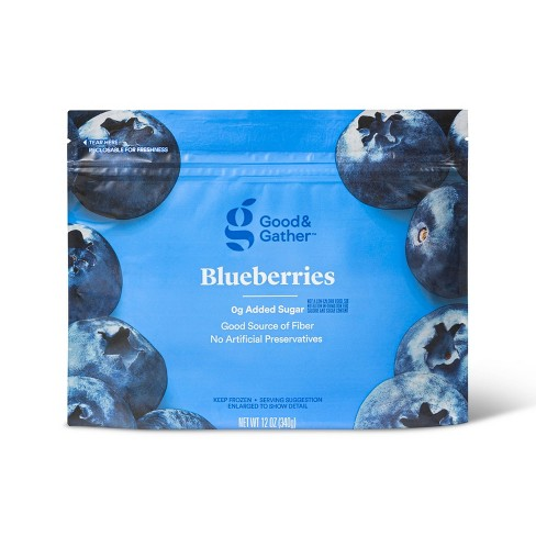 Frozen Blueberries - 12oz - Good & Gather™ - image 1 of 2