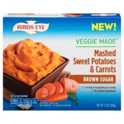 Birds Eye Frozen Mashed Sweet Potatoes & Carrots with Brown Sugar - 12oz
