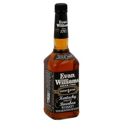 Evan Williams Bourbon Whiskey - 750ml Bottle