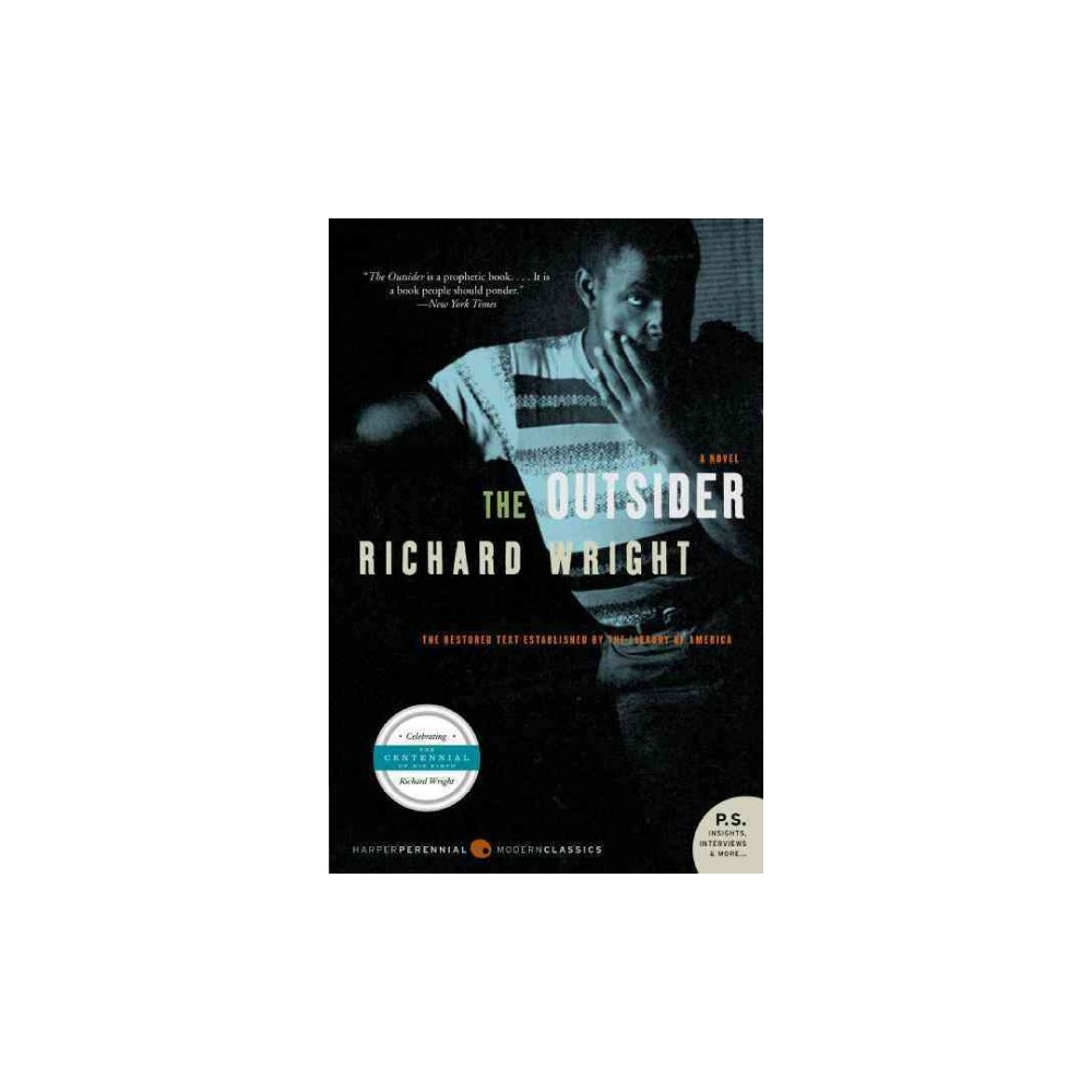 Outsider - by Richard Wright (Paperback)